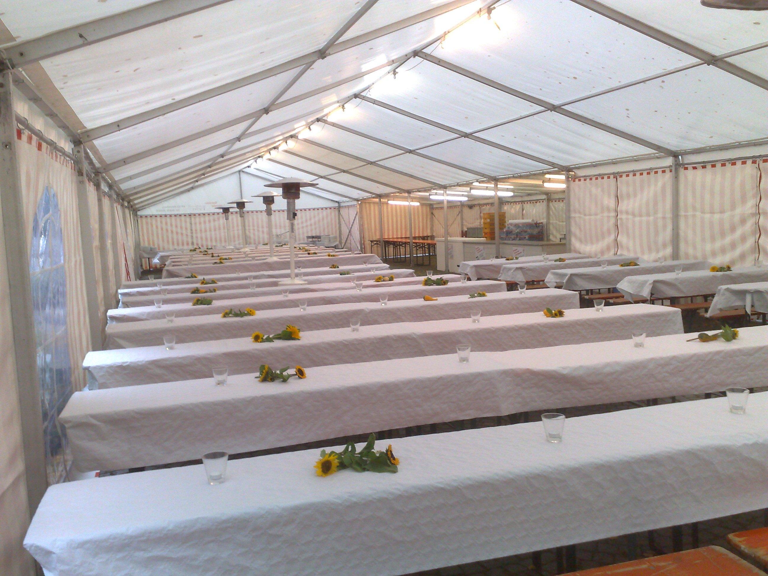 Zelte - Getränkefachhandel und Zeltverleih Harald Fein