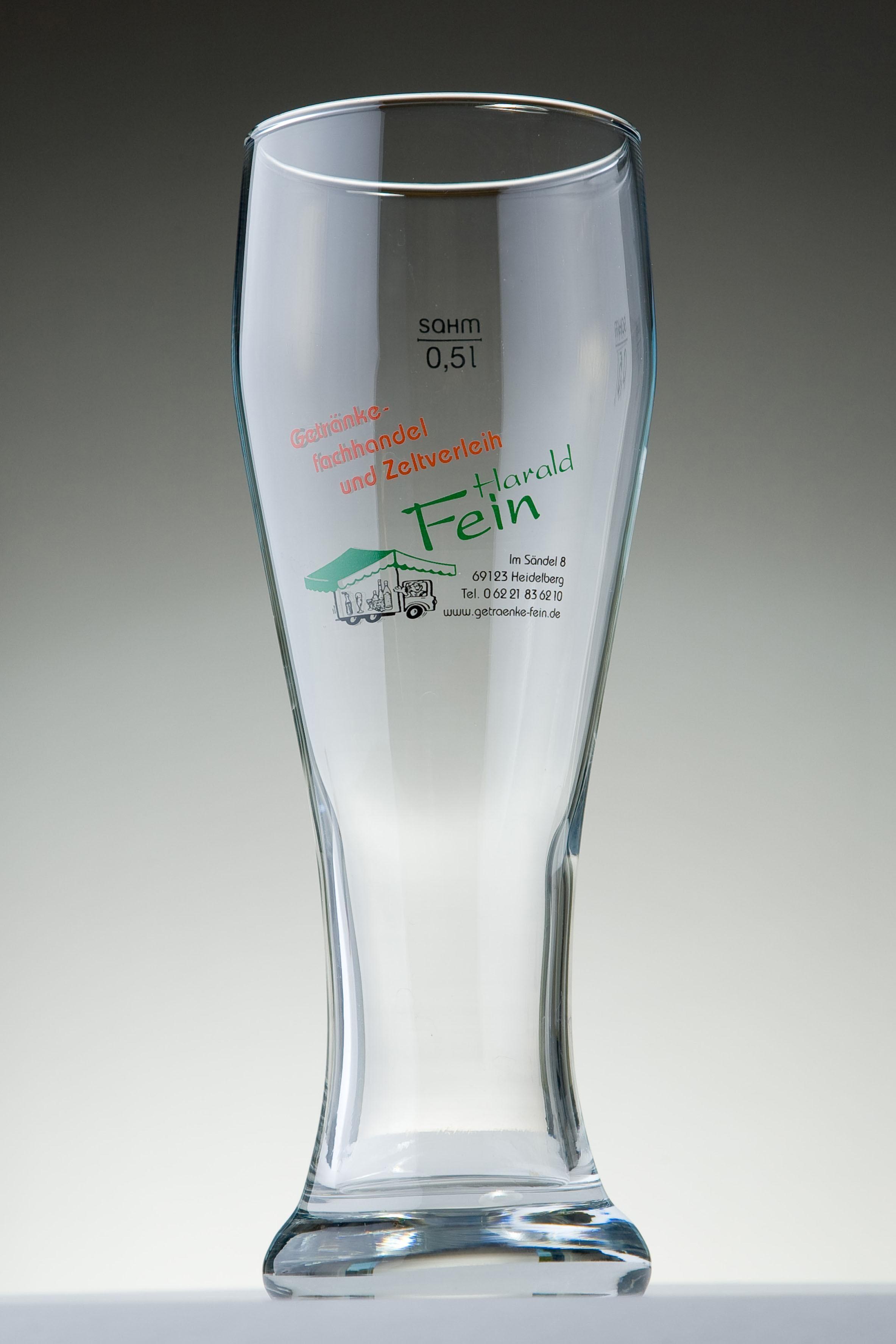Gläser - Getränkefachhandel und Zeltverleih Harald Fein