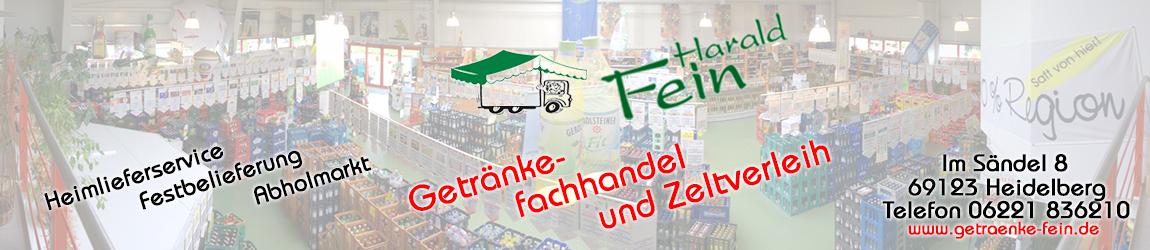 Getränkefachhandel und Zeltverleih Harald Fein